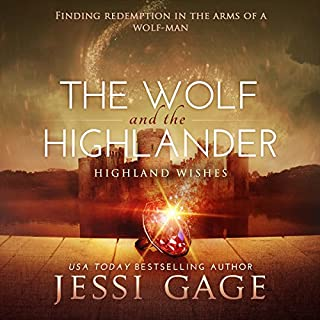 The Wolf and the Highlander audiobook cover art