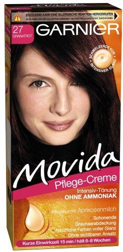 Garnier Movida Haarfarbe Intensiv-Tönung, 27 Granatrot, 1er Pack