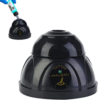 Vortex Mixer, Paint Shaker Lab Touch Mode Paint Mixer Shaker Mini Vortex Stirrer Ink Mixer Tattoo Pigment Shaker, for Labo...