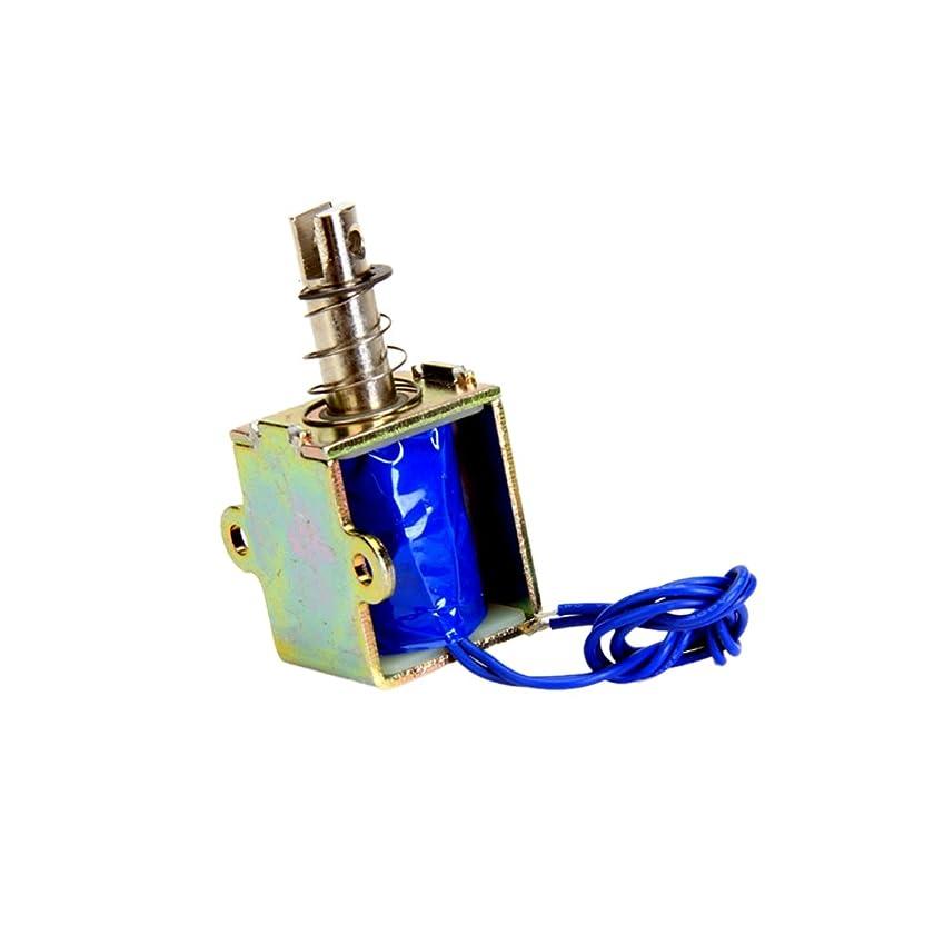 注ぎます推測する詐欺ZYE1-1038 DC 12V 5N オープンフレームソレノイド 電磁石 Pull型 自動販売機、輸送機器、オフィス施設、家電、機械用