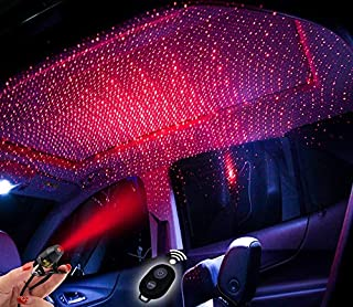 Car Interior Lights Led Decorative Car Roof Star Projection Laser,Romantic Auto Roof Led Star For Car/Home/Party Medium 3 ...