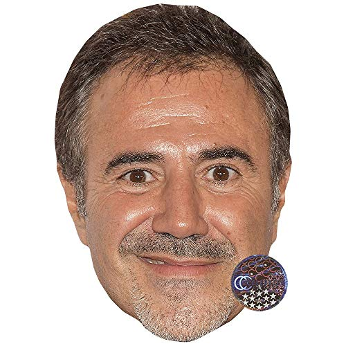 Celebrity Cutouts Jos� Garcia Maske aus Karton