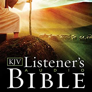 Listener's Audio Bible - King James Version, KJV: Complete Bible audiobook cover art