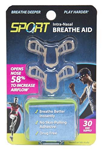 Sport–Intra-, Unterstützung, Einheitsgröße für Nase, 53% bessere Luftzirkulation, geeignet zur für. Ideal für Fahrrad- und die meisten Non-Contact