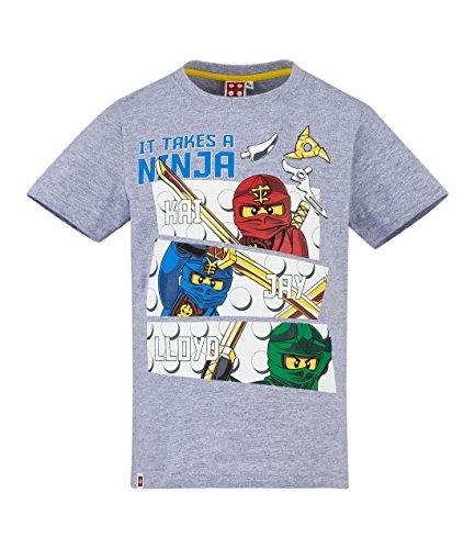 LEGO Ninjago Jungen T-Shirt - grau - 140