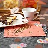 Oblique Unique® 20 Servietten für Schuleinführung Schulanfang Einschulung Deko für Mädchen mit Zuckertüte ABC 1 + 2 = 3 Stifte Motive Rosa - 8