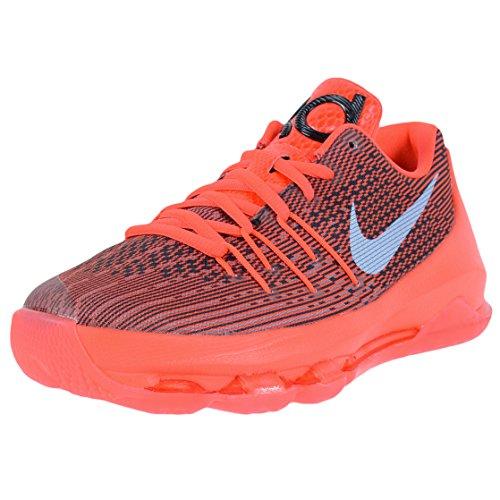 Nike Kids KD 8 (GS) Bright Crimson/White/Black Basketball Shoe 5.5 Kids US