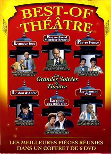 Le coffret DVD Best-Of Theâtre Vol. 1