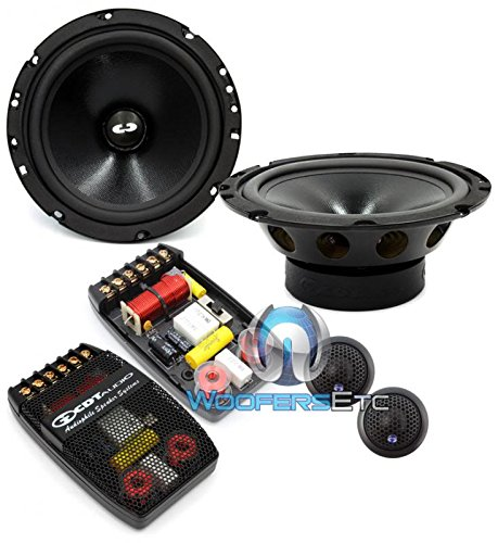 CL-61A-25 PRO CDT Audio Classic 2-Ohm 6.5 inch best door speakers