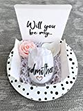 Godmother Gift, Godmother Proposal Gift, Godmother Box, Will you be my Godmother, Baptism Godmother, Godmother Wine glass, Godparent Gift