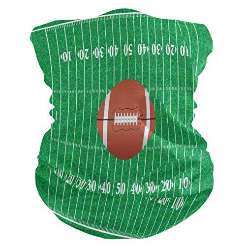 Bandana para La Cabeza,Bufanda De Cuello De Deporte De Fútbol Americano, Pañuelo Decorativo De Protector Facial para Voleibol Ambulante Unisex 25X50Cm
