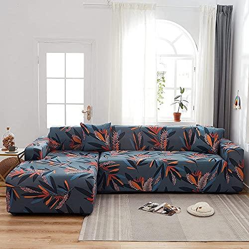 Sofabizers Stretch Sofabizers Impreso Floral Printed Sofabizen son adecuados para sofás de esquina de 1/2/3/4 asientos y en forma de L (las fundas Sofabic en forma de L se deben comprar dos piezas)