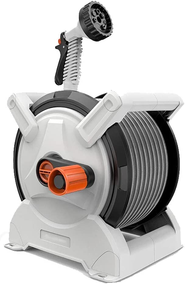 Dual-Purpose Hose Reel Storage Rack Garden Beauty products - San Francisco Mall Kit Includes