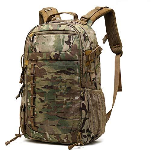 RatenKont 30L Tactical Impermeable Deporte Militar Escalada Bolsa Trekking Mochila Viaje Camping Senderismo MC