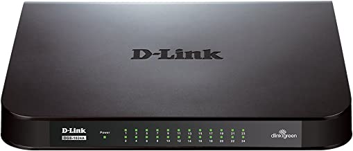 D-Link 24-Port Gigabit Switch (DGS-1024A) (Renewed)