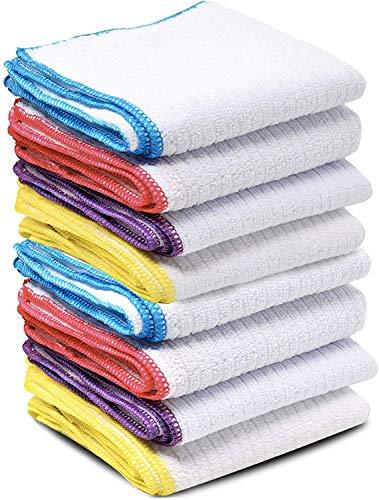 DBAILY Paños Limpieza Microfibra Cocina, Cepillo para Lavar Platos Plastico Multifuncional Limpieza para Cocina Doméstica