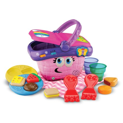 LeapFrog Shapes and Sharing Picnic Basket (Frustration Free Packaging), Pink,...