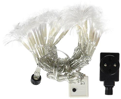 E=M6 5EEX932MC Guirlande Bouquet Fibre Optique 32 LED 8 Fonctions, Plastique, Multicolore