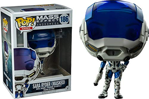 Figurine Pop - Mass Effect Andromeda - Sara Ryder Masked Ltd (186) [Importación francesa]