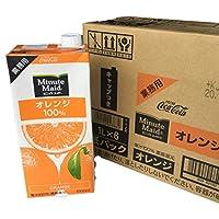 コカコーラ ミニッツメイド オレンジ100% 1L紙パック×12(6×2)本入