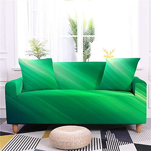 Funda de sofá 3D, multicolor, funda de sofá elástica, funda protectora para sofá de 1/2/3/4 plazas, color : WW151 1, especificación: 1 plaza, 90 140 cm)