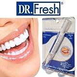 Absolute White Teeth Whitening Pen Made In USA Von Dr Fresh | Zahnaufhellung Bei Verfärbungen Durch Kaffee Tee Dunklen Soßen | Einfache Anwendung, Keine Stripes Notwendig