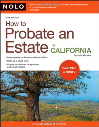 Download How to Probate an Estate in California 1413309372