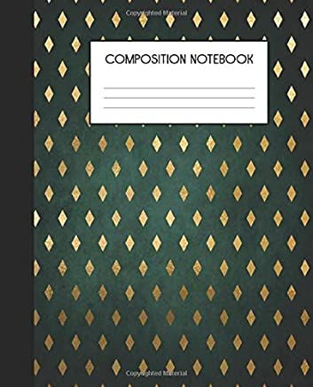 Composition Notebook: Wide Ruled Notebook | Midnight Forest | Lined Journal | 100 Pages | 7.5 x 9.25 | School Subject Book Notes| Student Gift Kids Teenager Adult Teacher