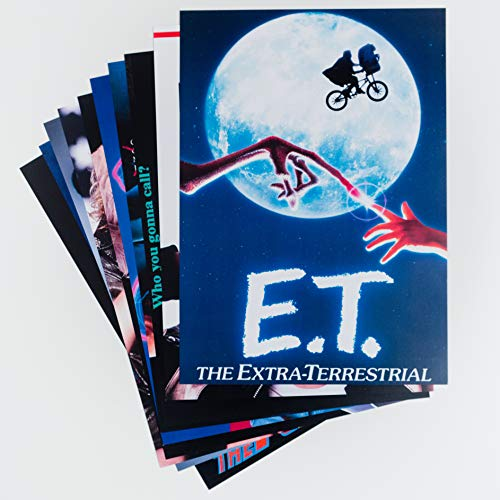80er Jahre Party Dekorationen - 80er Jahre Party Dekoration - Packung mit 10 x A4 80er Jahre Film- und TV-Plakaten