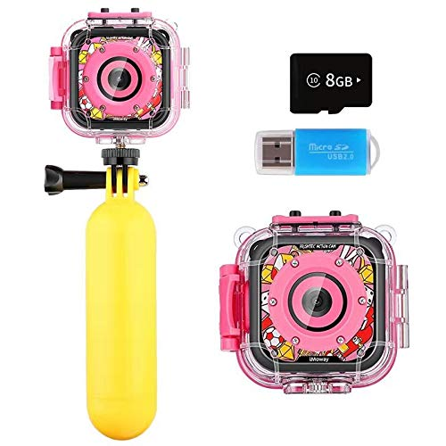 Kids Camera, iMoway Waterproof Video Cameras for Kids HD 1080P Kids...