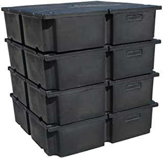 48 in. x 48 in. x 12 in. Dock System Dock Floats for Kit A (4-Pack)
