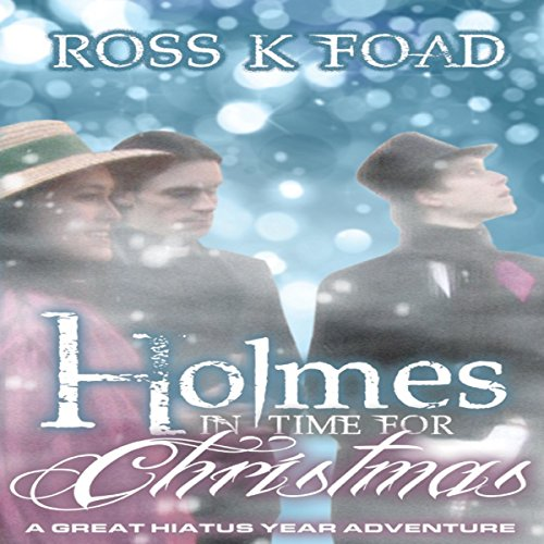 Holmes in Time for Christmas cover art