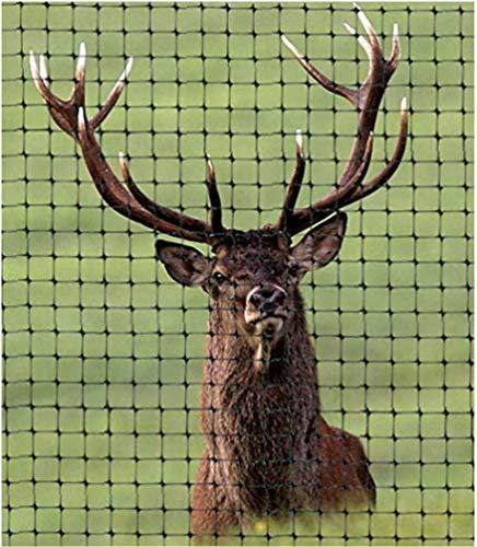 OldMacDonald Deer and Animal Fence Barrier Netting (80gr/sq m.) 7.5' x 100' (2.3m x 30m) (mesh 45x50mm) Premium