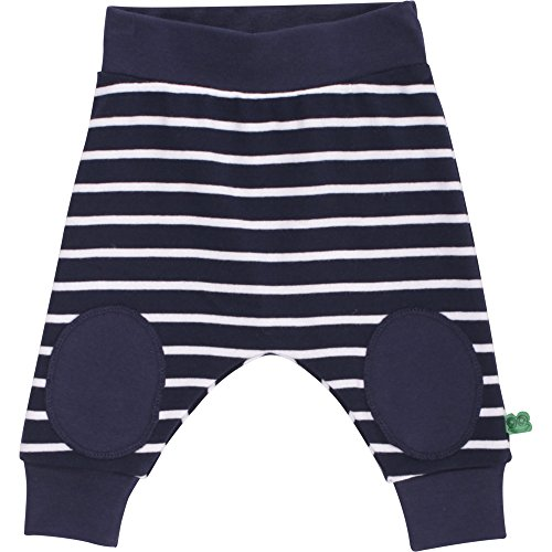 Fred's World by Green Cotton Unisex Baby Stripe Funky Pants Hose, Blau (Navy 019392001), 68