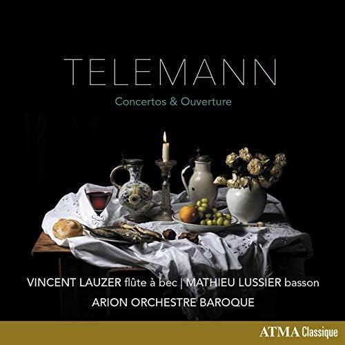 Vincent Lauzer, Arion Orchestre Baroque & Mathieu Lussier