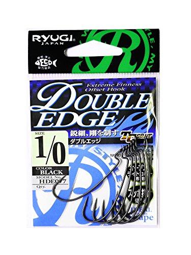 RYUGI(リューギ) RYUGI ダブルエッジ フック #1/0 釣り針