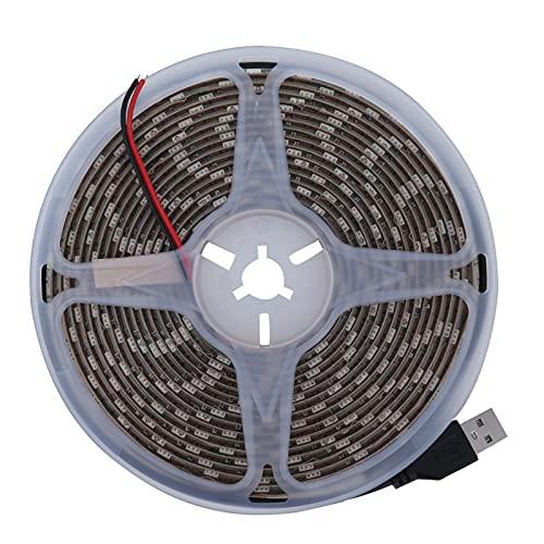 Voluxe Tira de luz LED, Decoración de luz LED Impermeable Fuente de alimentación USB Tira de LED Impermeable para pasillos