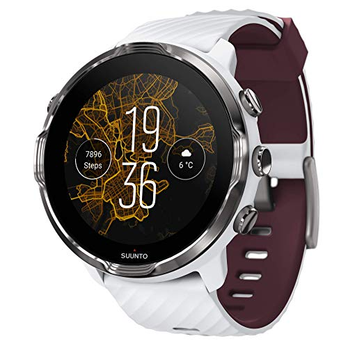 SUUNTO 7 Blanco/Burdeos [Amazon 🇩🇪 ]