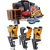 RaceWax Elite Ski Wax Tuning Kit Plus All Metal World Cup Ski Vise