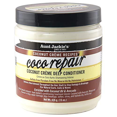 Aunt Jackie's COCONUT CREME Curl Repair 15oz