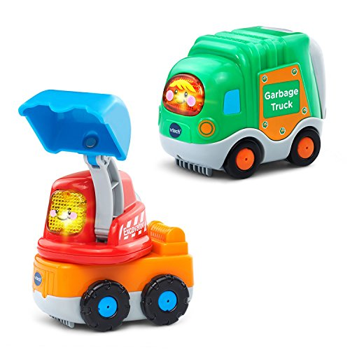 VTech Go! Go! Smart Wheels Garbage Truck and Excavator
