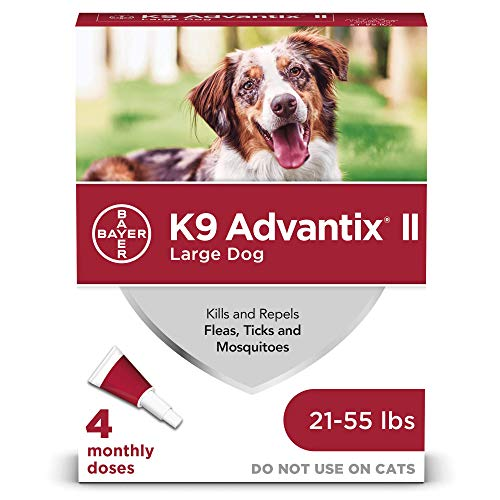 K9 Advantix Ii Red 2.5ml 21 - 55lb 4pk