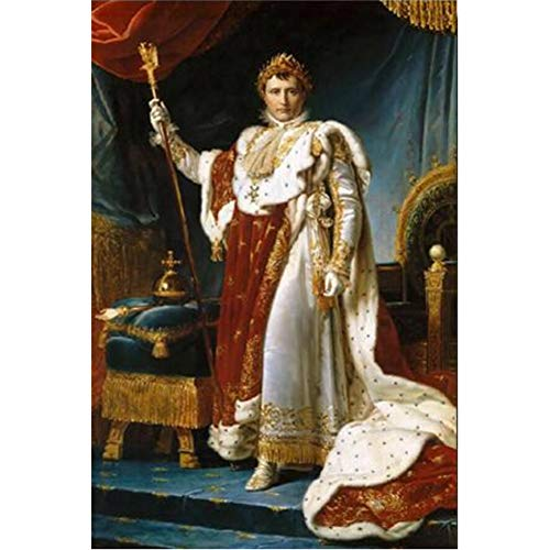 empty Artemisia Gentileschi Napoleon Paintings Replica Wall Art Posters and Prints for Living Room Decoration -60x90CM no Frame