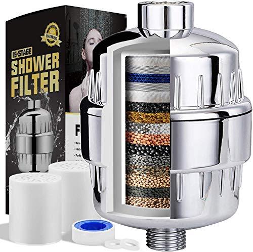 Universal-Duschfilter, Anti-Chlor, Mehrstöckiger Luftreiniger mit neuer Kartusche entfernt Chlor, schweres Metall und schädliche Stoffe