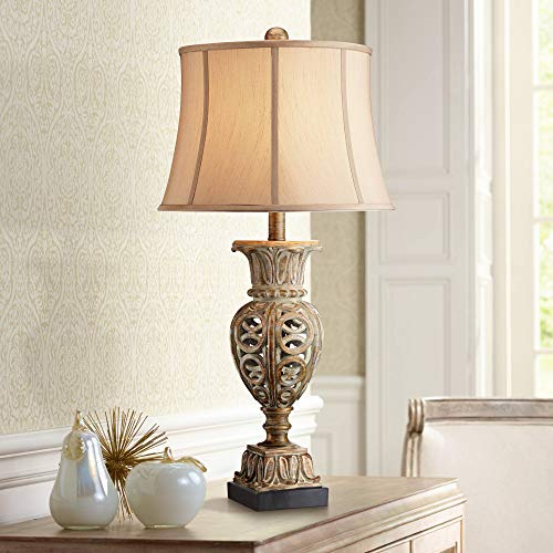 Grand Rue Washed Gold Table Lamp