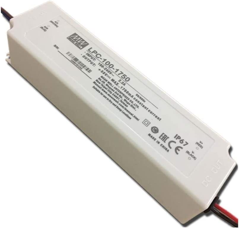 [PowerNex] Mean Well LPC-100-1750 58V 1750mA 100W Single Output LED Power Supply
