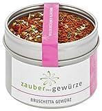 Zauber der Gewürze Bruschetta Gewürz in Premium-Qualität - Bruschette mediterrane Küche - Italienische Spezialitäten auch zu Grill-Gerichten, 45 g