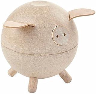 PlanToys Piggy Bank- White