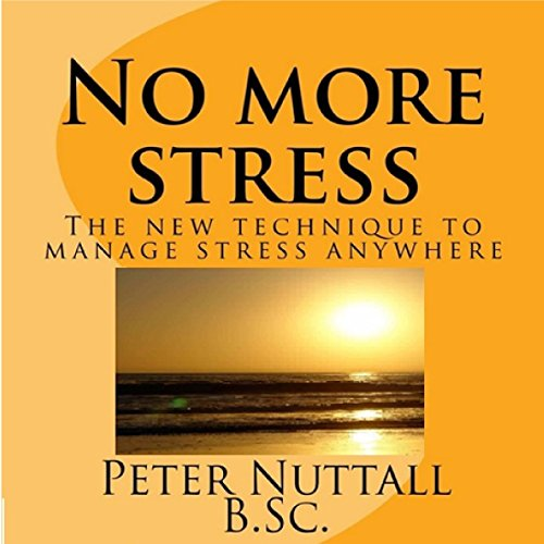 No More Stress audiobook cover art
