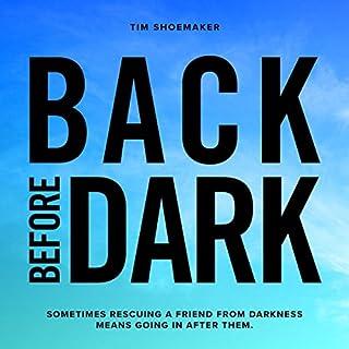 Back Before Dark audiobook cover art